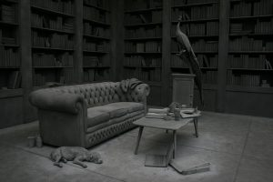 Hans Op de Beeck, The Collector's House, 2016.