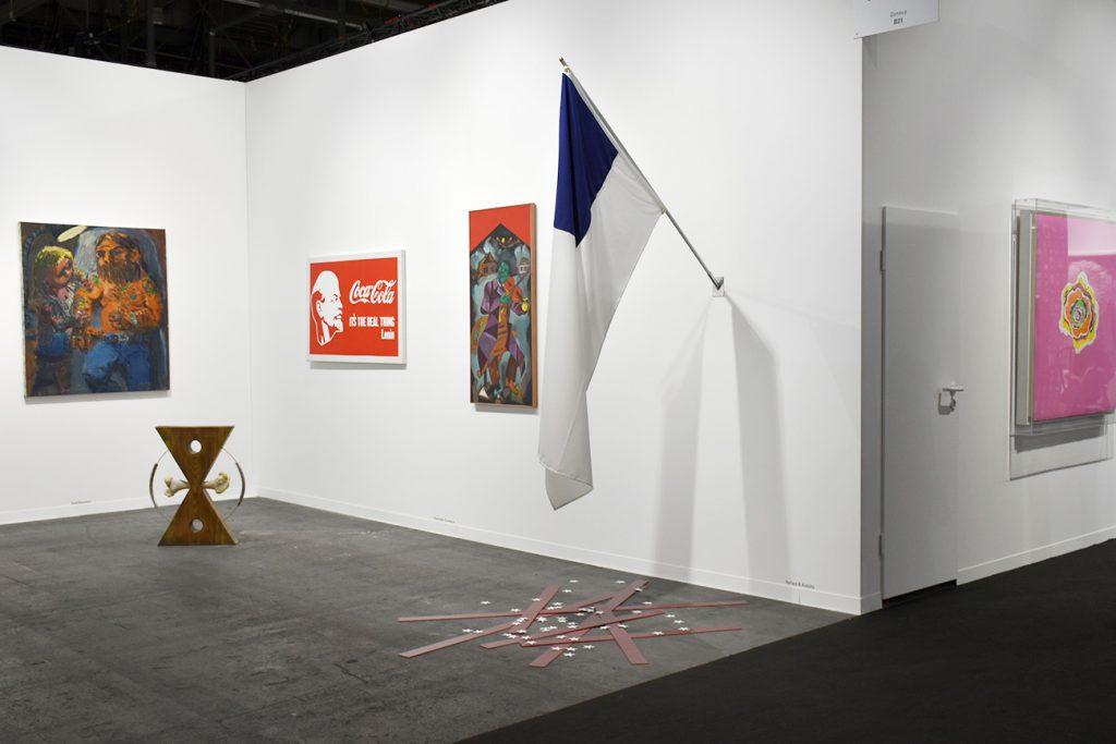 """Coup de coeur pour """"Just like starting over again"""" (2017) du duo d'artistes installés à Berlin Yarisal & Kublitz, vu sur le stand de la galerie Sébastien Bertrand (Genève)."""
