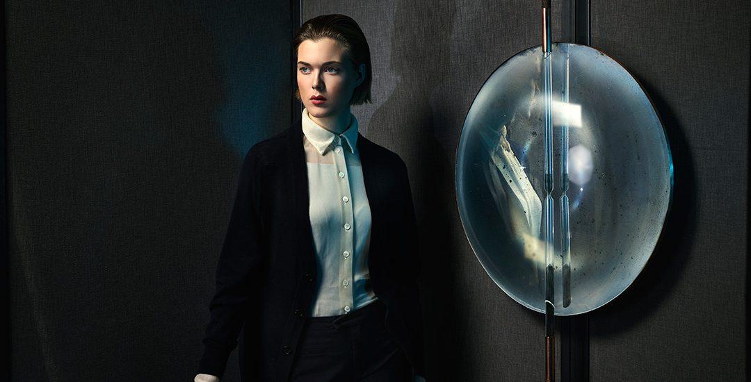 The Mirror | Hourglass (2014 – 2016), Nel Verbeke. Photographie de Alexander Popelier, courtoisie de Roehrs & Boetsch.