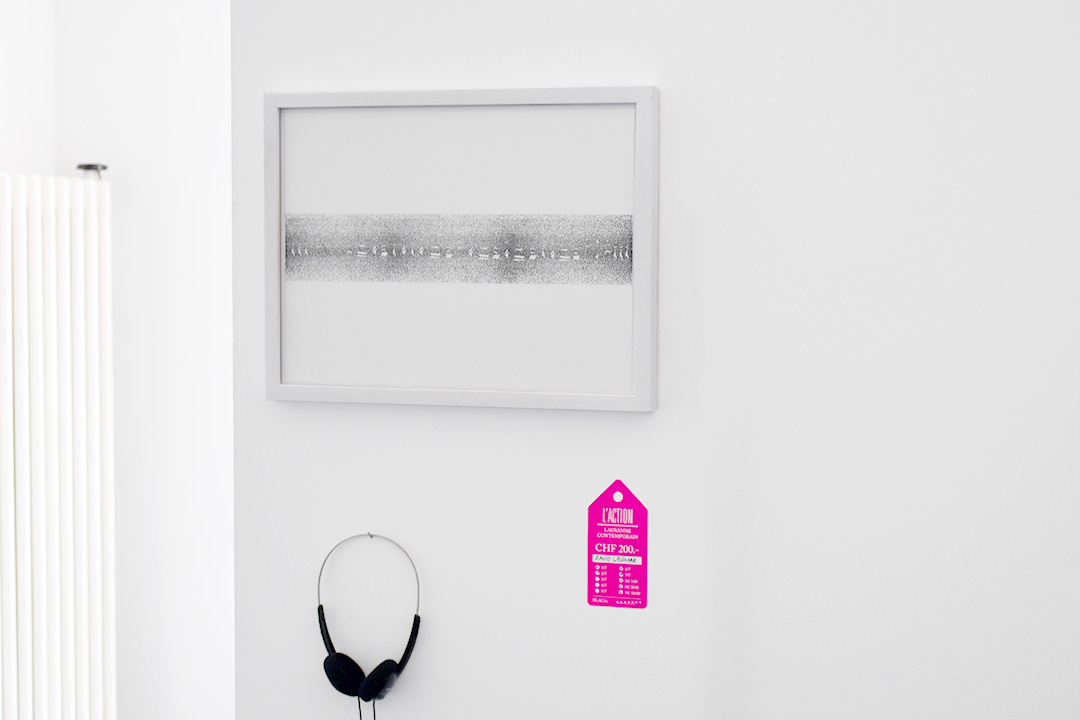 "50e Action Flac, David Weishaar, Lithographie ""Retourner à la mer"", 2017"