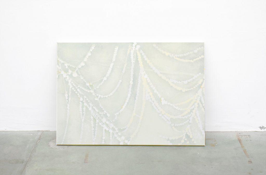 David Weishaar, Le nombre et la sirène, 2016. Huile sur toile, 70 x 100 cm