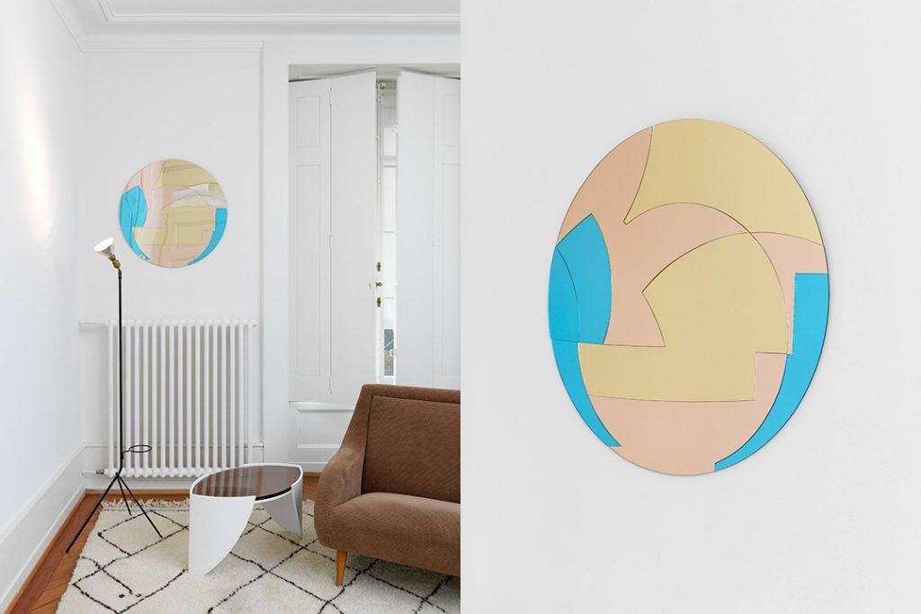 Miroir de la série Pauline, Juliette Roduit. Photo © Annik Wetter