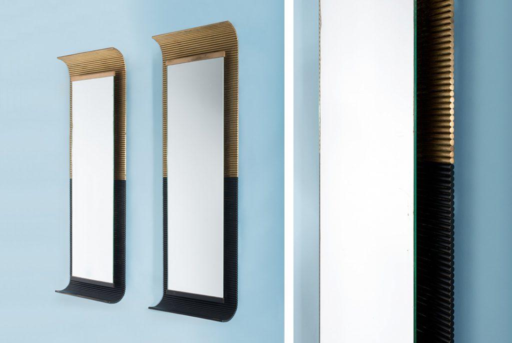 Miroirs, Ettore Sottsass, Santambroggio e De Berti. Photo © Artcurial
