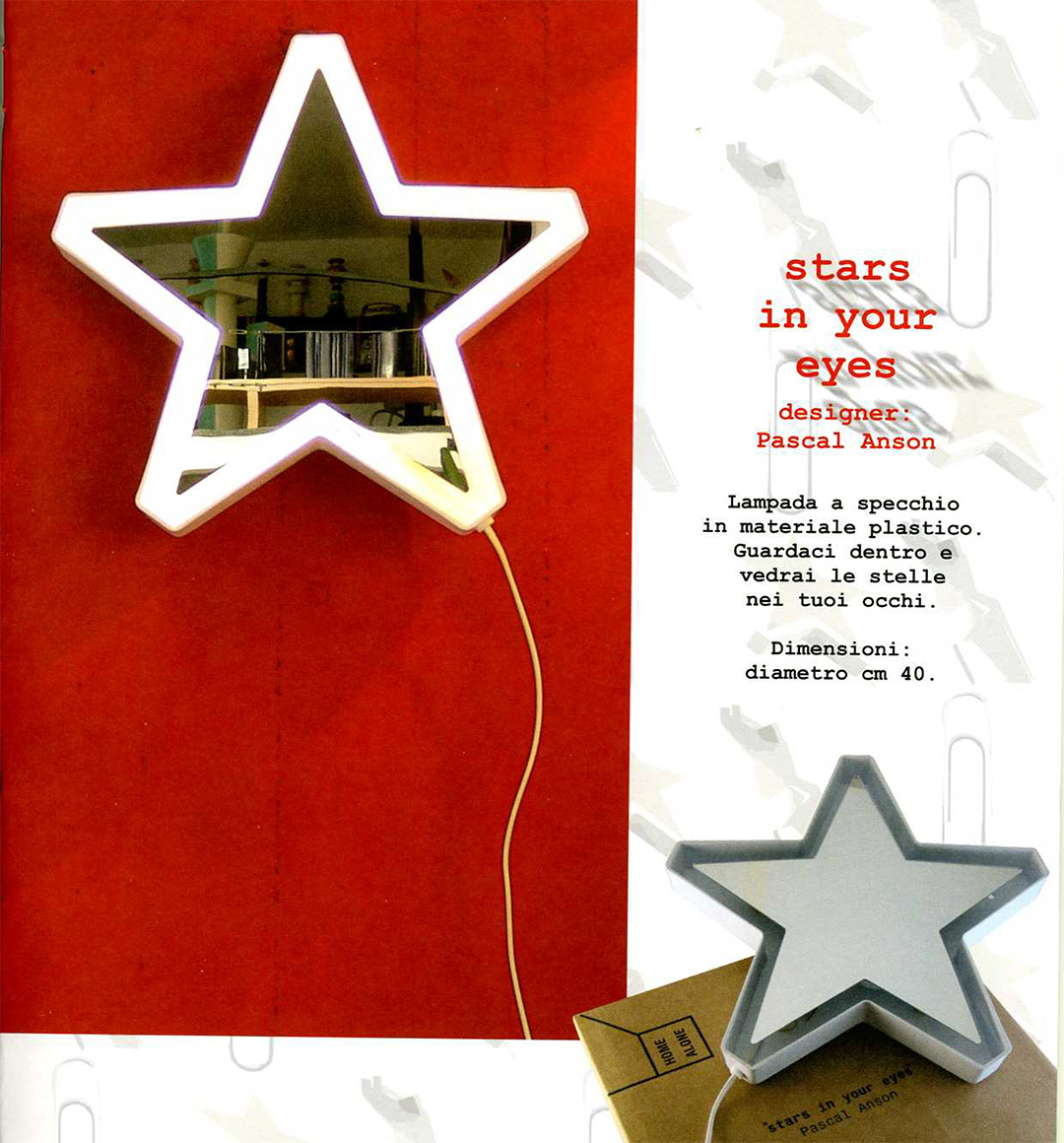 Stars in your eyes, Pascal Anson, Post Design