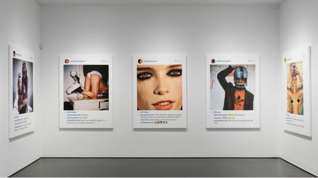 Vue de l'installation New Portraits de Richard Prince à la galerie Gagosian à New York. © Richard Prince. Courtesy Gagosian Gallery. Photo © Robert McKeever.