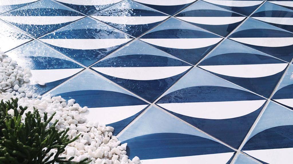 Blu Ponti, Gio Ponti, Ceramica Francesco De Maio, décor type 27