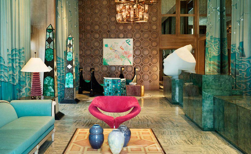 Viceroy Hotel Miami par Kelly Wearstler