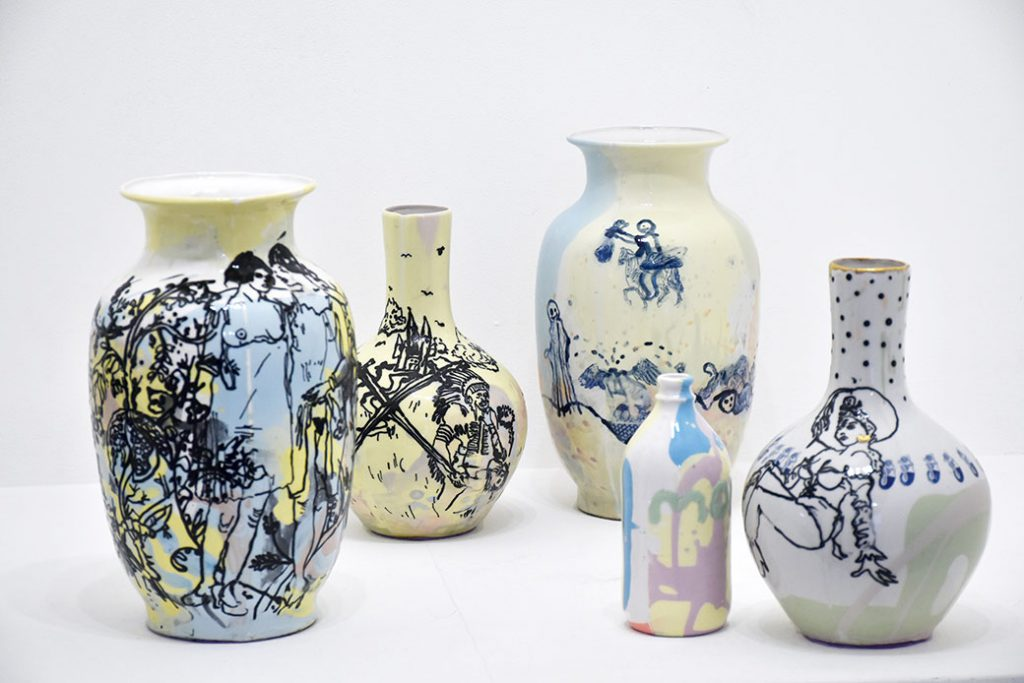 Vases, Martin Hyde. Photo © Kissthedesign