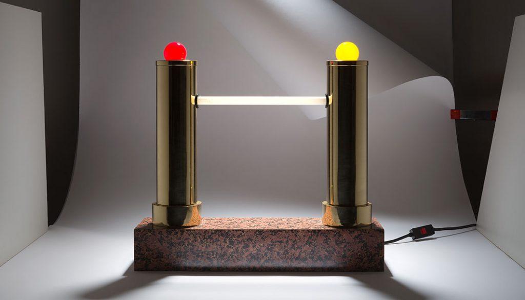 Lampe Capodanno, Ettore Sottsass, Studio Alchimia, 1979. Photo © ETOZ