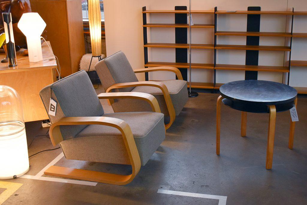 Alvar Aalto, Tank Chair, Buma Design