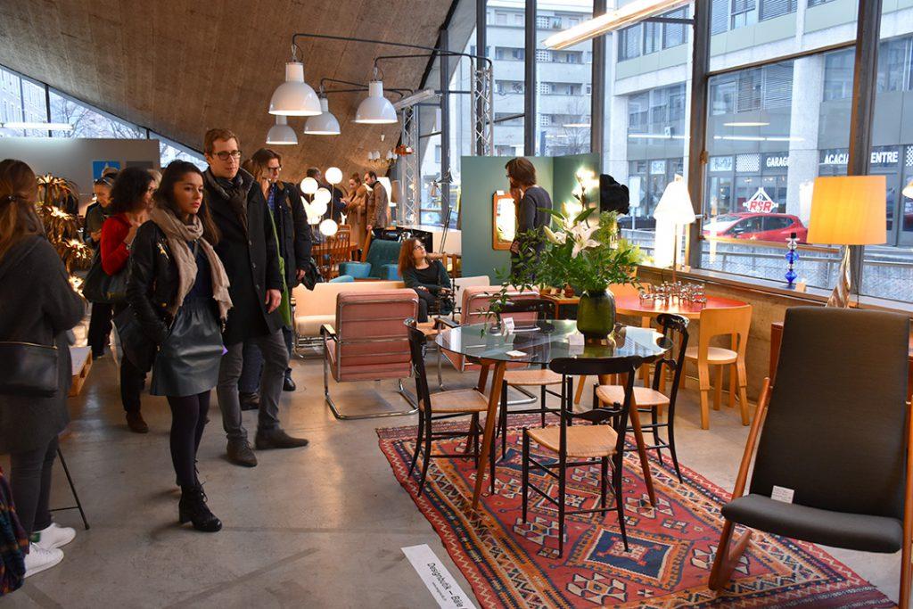 Vue du Salon du Design (Designbutik)