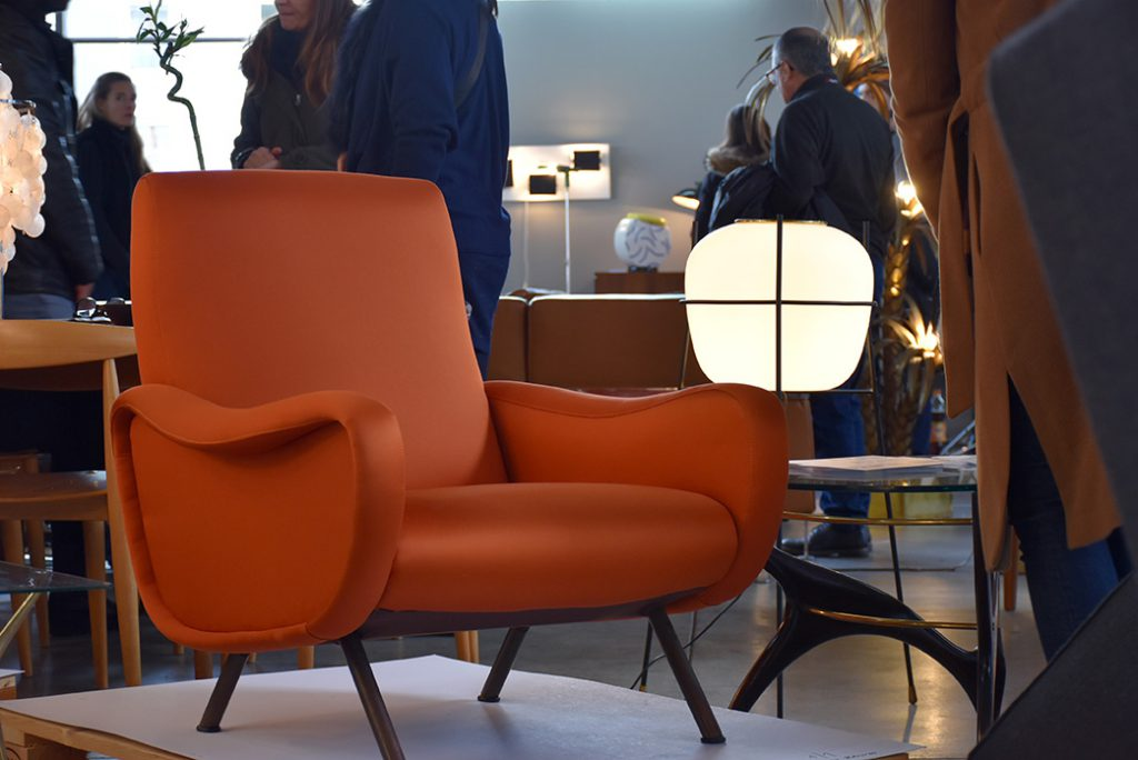 Lady Chair de Marco Zanuso, Alexandra Alge