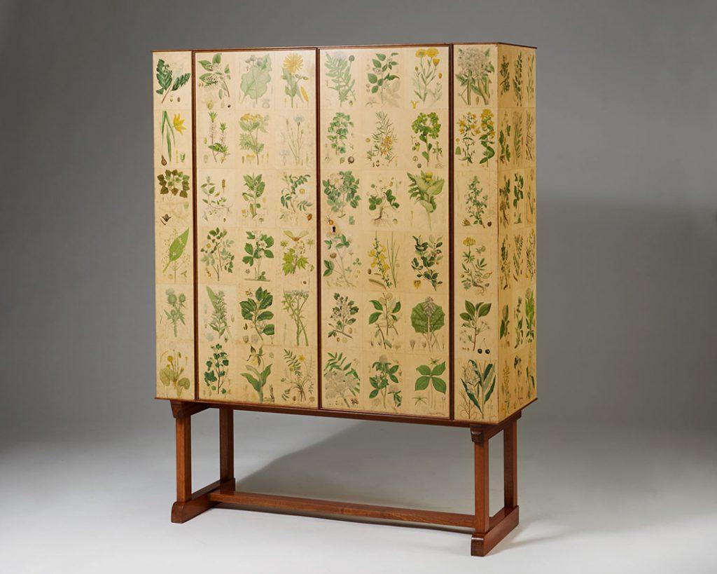 Cabinet Flora, Josef Frank pour Svenskt Tenn, ca. 1930. Modernity Sweden. © Modernity
