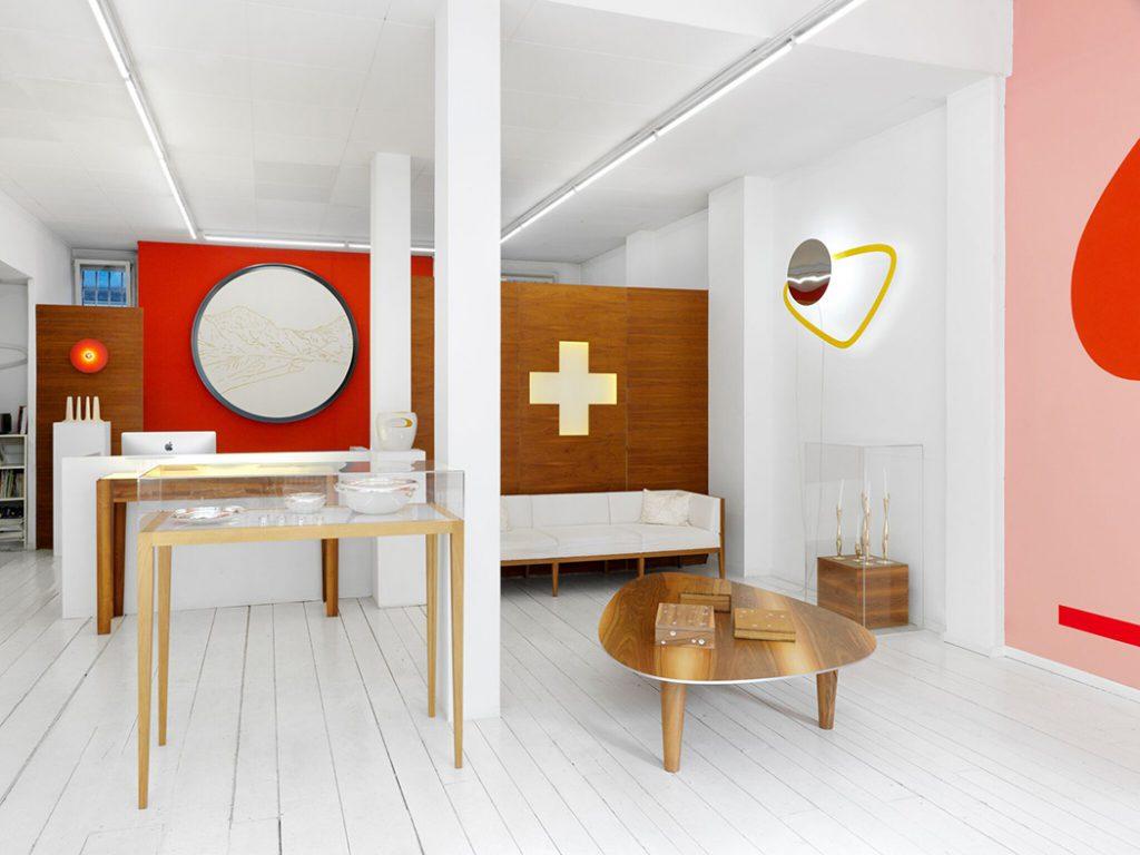 Vue de la galerie Cramer + Cramer à Genève. Photo © Annik Wetter