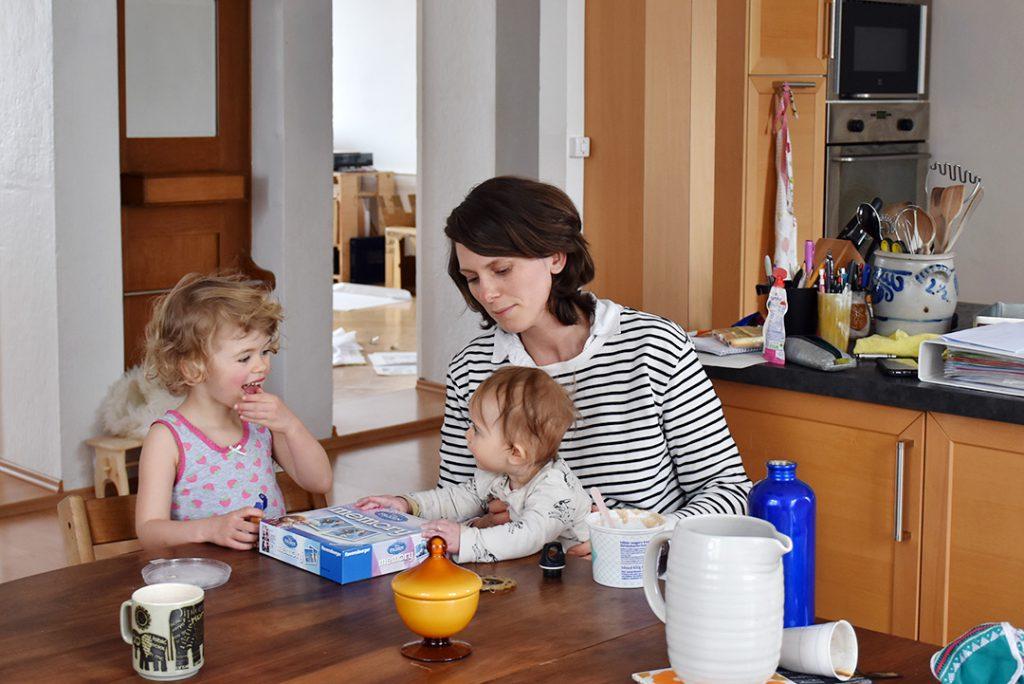 Portrait de famille: Noémie Doge et ses deux filles