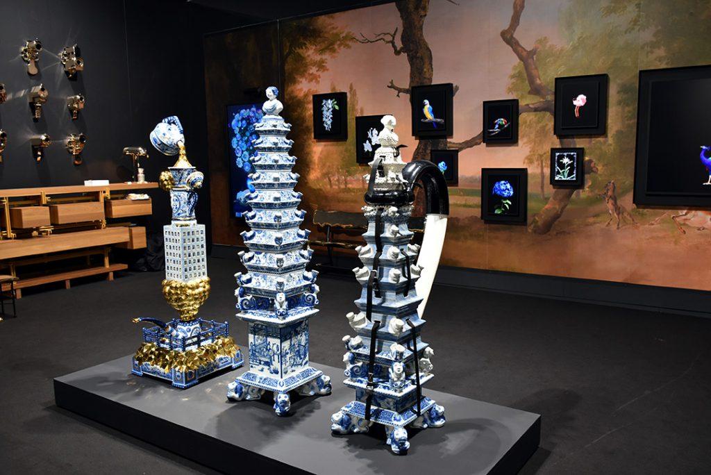 Priveekollektie, Pays-Bas. porcelaine Royal Tichelaar Makkum. Photo © Corine Stübi