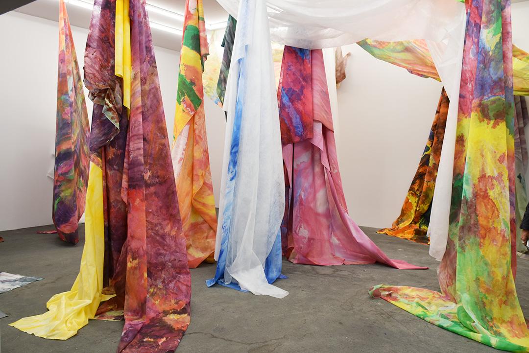 Sam Gilliam, Untitled, 2018