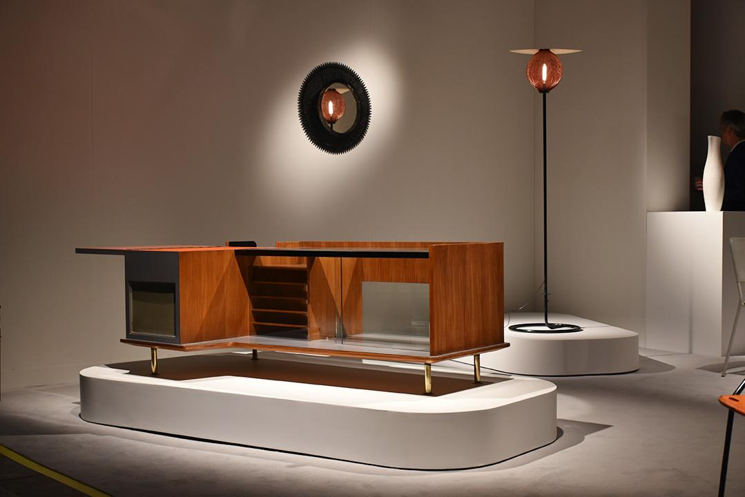 Cabinet de Mathieu Matégot, dessiné en 1958 pour sa propre maison à Boutron-Marlotte chez Mathieu Richard