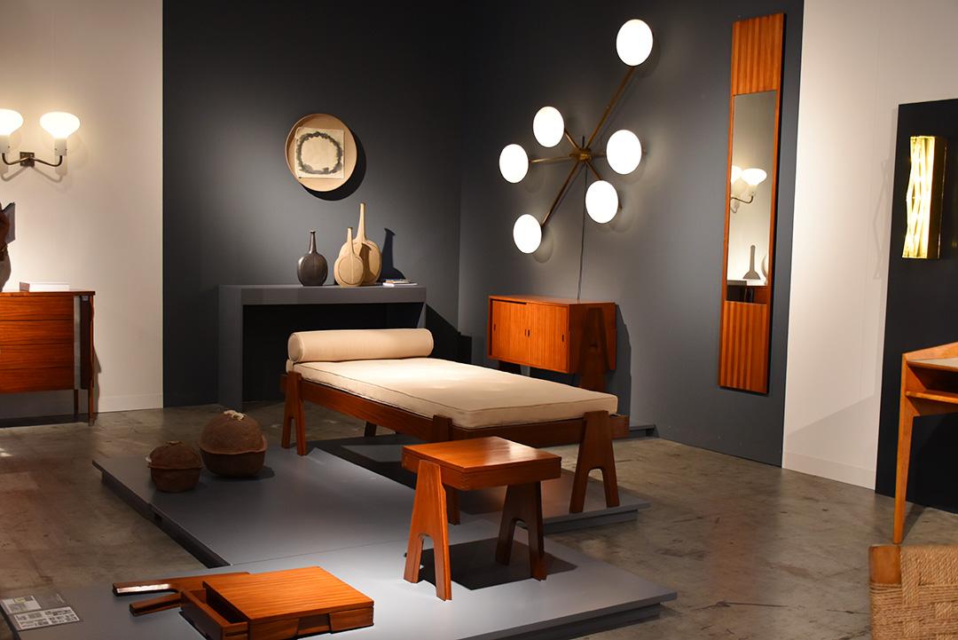 Suite de chambre à coucher, Aneglo Mangiarotti avec Bruno Morassuti, 1955 pour Frigeria. Galleria Rossella Colombari