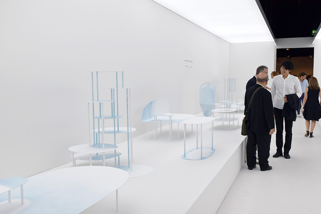 Nendo et sa Watercolor Collection pour Friedman Benda