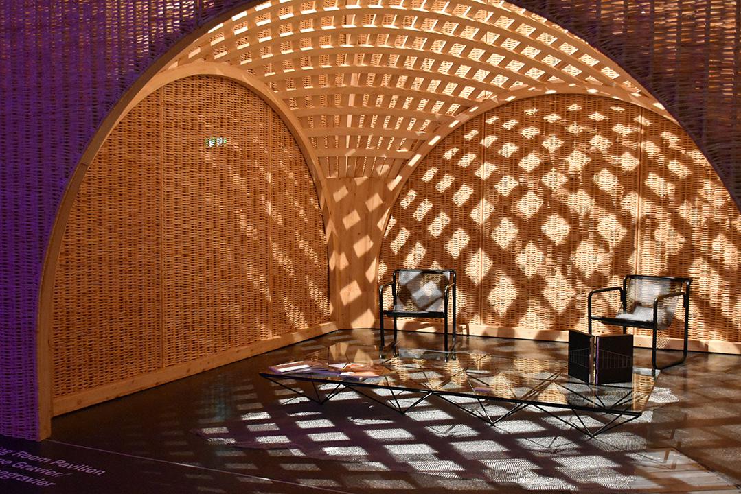 Dining Room Pavillon de RDAI Architecture, présenté par la galerie Philippe Gravier